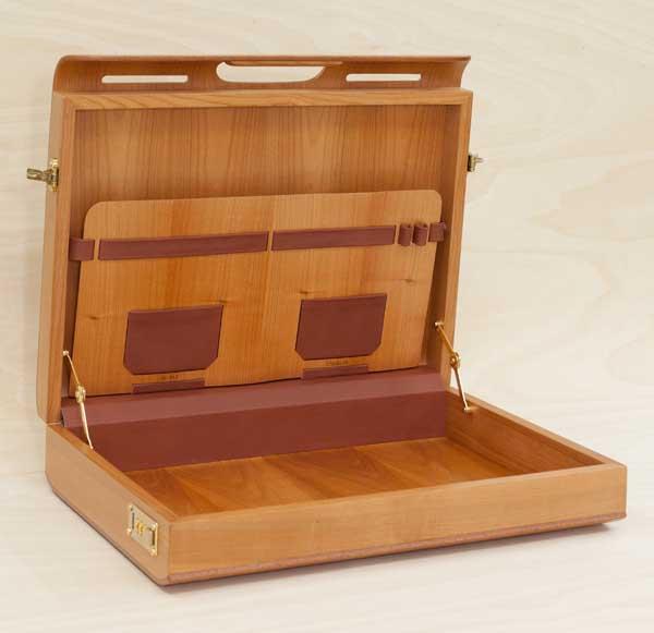 wooden attach cases inside. Black Bedroom Furniture Sets. Home Design Ideas